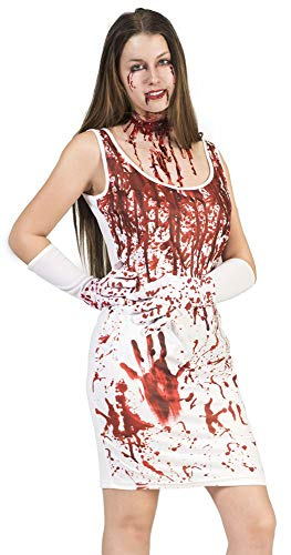 Funny Fashion Bloody Mary Kostüm für Damen - Gr. 44 46 (Kostüm Halloween Bloody Mary)