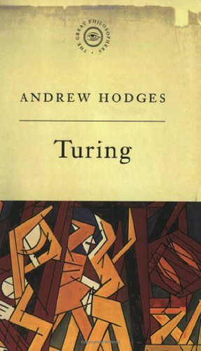 Turing (Great Philosophers) by Andrew Hodges (1997-10-27)