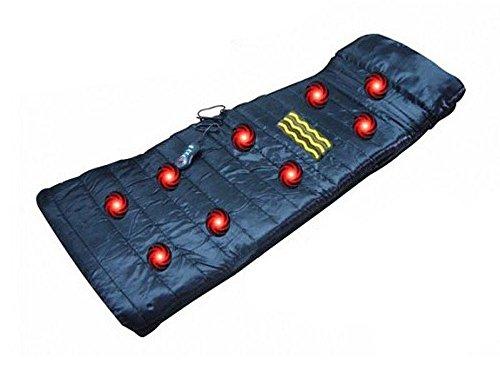 Elektrische Massage Matratze, 9 Modi, 4 Zonen mit Heizfunktion