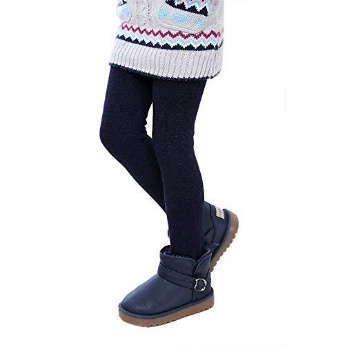 (ALISIAM Winter Weihnachten Kind Mädchen schön Mode Hautfreundlich Warm halten Verdickung Einfarbig Gamaschen Socken Wollhosen Hose innen Hose Kinderkleidung)