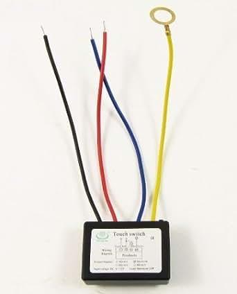 4 Mode interrupteur on / off tactile pour Metal-corps Lampe LED 6-12VDC Xd-613b
