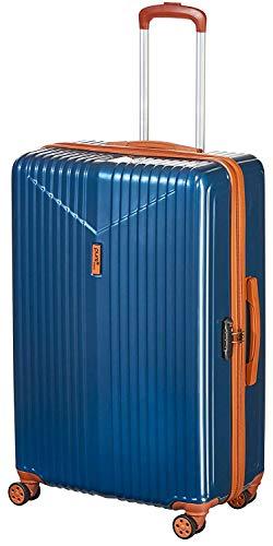 Pure - Hartschalen-Koffer Karla | Trolley mit 4 Rollen und TSA-Schloss in Größe M | Reisekoffer mit 61 Litern Volumen | Petrol