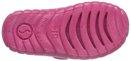 Superfit Happy, Chaussons fille Rose - Pink (ROSA 60)