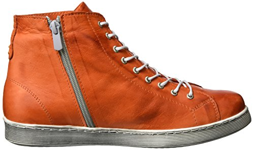 Andrea Conti - 0343443, Scarpe da ginnastica Donna Orange (orange/kombiniert)