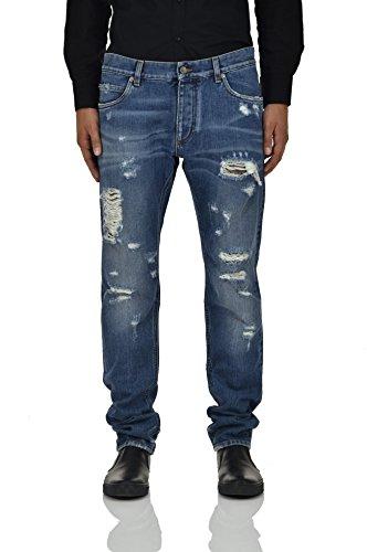 Dolce&Gabbana Classic Jeans Tag Herren - Größe: 50 - Farbe: Blau - Neu (Männer Dolce Gabbana Jeans)