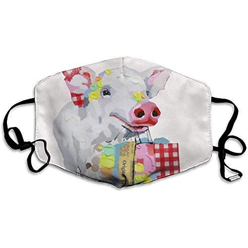 Unisex Máscaras bucales Compras Cerdo Animal Antipolvo Antipolución Poliéster Motocicleta Mascarilla Reutilizable