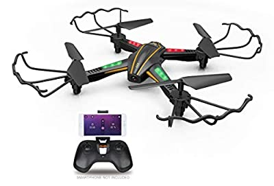 KINGBOT RC Drone, TK107 RC Quadcopter 2.4GHz 4CH 6-Axis Gyro Remote Control Drone with 720P HD Camera and LED Lights