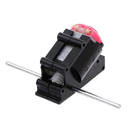 JOYKK Doppelwellen-Kegelwinkel-Getriebemotor-Anzug-Wurm-Reduzierer 3-6V DIY Teile - Farbe nach dem Zufallsprinzip -