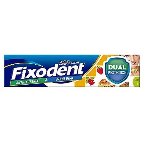 Fixodent Dual Protection Antibacterial & Food Seal Denture Adhesive Cream