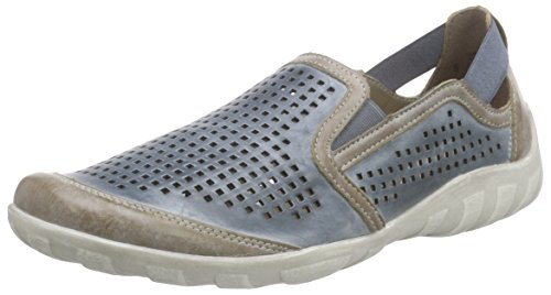 Remonte R3425 Damen Slipper Blau (steel/royal / 14)