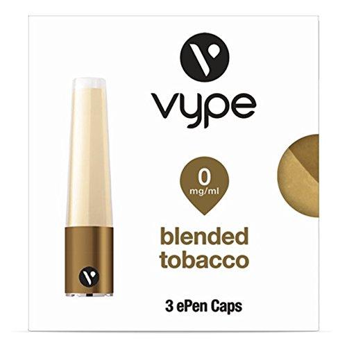 Vype ePen Caps Blended Tobacco 3er Pack | e-Liquid | ohne Nikotin