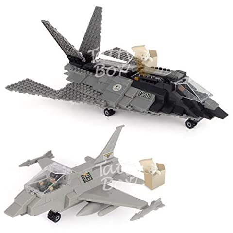 Army Air Attack Fighter Planes (402 Pieces)