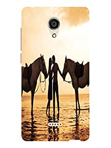 TREECASE Designer Printed Soft Silicone Back Case Cover For Micromax Canvas Unite 4 Q427