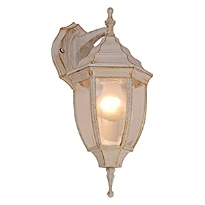 Globo 31721 E27 NYX1 IP44 Outdoor Wall Light, White