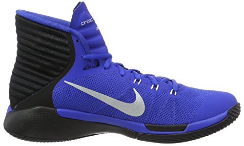 Nike Prime Hype Df 2016, Chaussures de Basketball Homme Game Royal/Reflect Silver-Black
