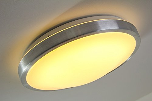 Led plafoniera watt ip policarbonato lampada da soffitto
