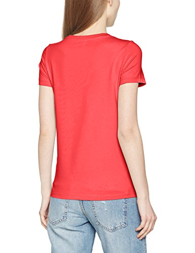 Only Onllive Love Trendy Ss O-Neck Top Noos, T-Shirt Femme Rose (Teaberry)