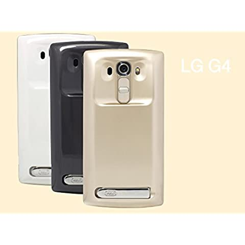 Mugen Power LG G4815T/G4Dual 818N - Batería ampliada con tapa, 6200mAh, soporta carga inalámbrica,