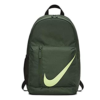 Nike Y NK ELMNTL BKPK Backpack, Unisex niños, fir/Outdoor Green/(Lime Blast), MISC