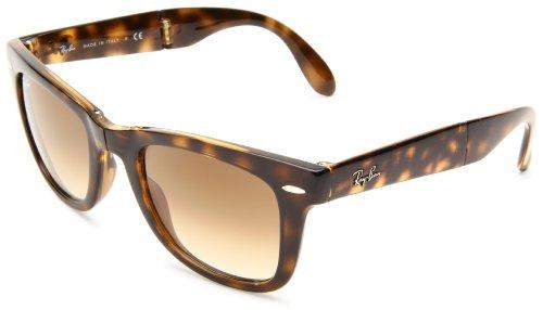 Ray-Ban Unisex Sonnenbrille RB4105, Einfarbig, 50 mm, Braun (Tortoise/ klassisch braun)