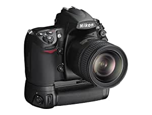 Nikon D700 SLR-Digitalkamera (12 Megapixel, Live View, Vollformatsensor) Kit inkl. Multifunktions-Batterie MB-D10