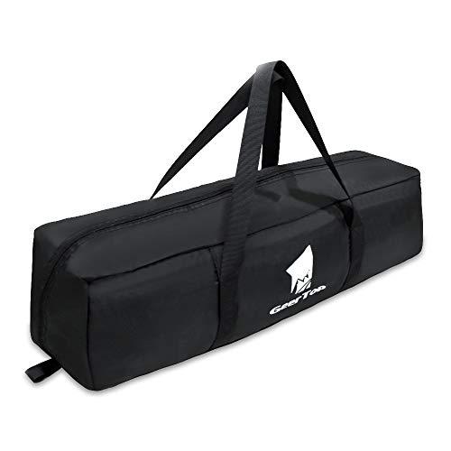 GEERTOP Ultraleichter Campingzelt Aufbewahrungstasche Faltbar 210D Oxford Ripstop Sportausrüstung Duffel Tasche für Camping Wandern Angeln Outdoor Reisen, L(for 1 Man Tent)
