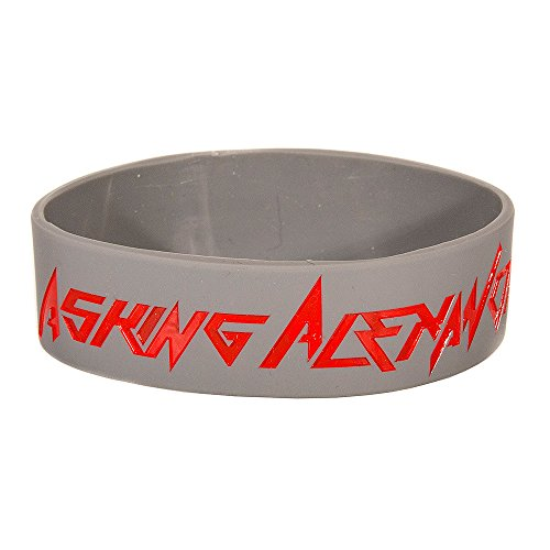 Asking Alexandria Armband (Grau) (Asking Alexandria-armband)