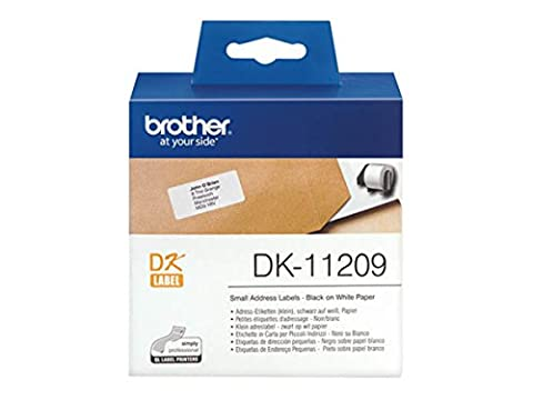 Brother P-Touch QL 500 Series (DK-11209) - original - P-Touch Etiketten - 29mm x 62mm