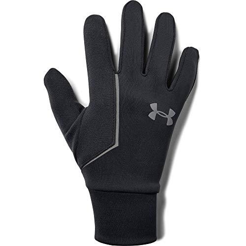 Under Armour Herren Mens CGI Run Liner Glove Handschuhe, Schwarz, Medium