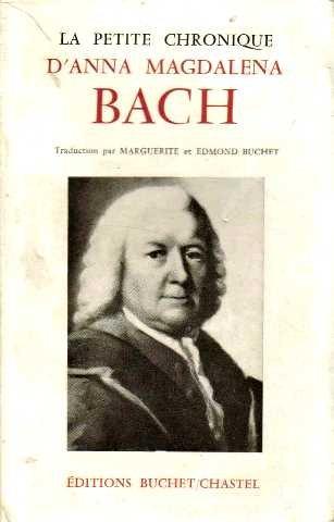 Portada del libro Bach la petite chronique d'anna magdelena