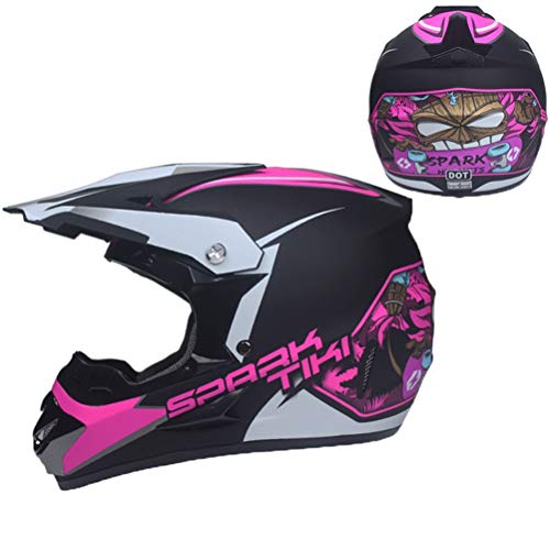 ult Motocross Helme Seasons Universal High Performance Vollschutz Motorradhelm Herren Damen Off Road Racing Helme ()