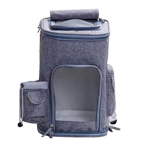 Bequemer Hunderucksack gehen Paket heraus, Breathable Schulter-Rucksack-Reise-Hundekäfig-Katzen-Bügel, vorhanden in 7 Farben (Farbe : Style-4)