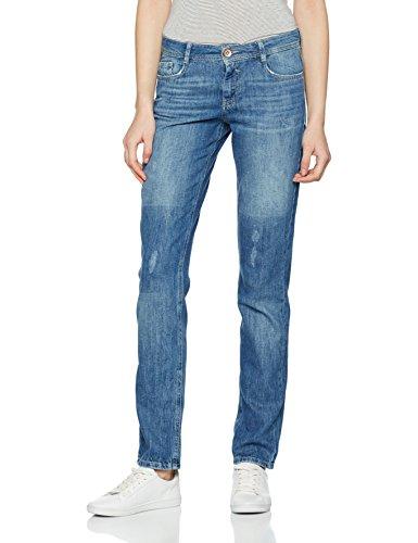 s.Oliver Damen Slim Jeans 14703713711, Blau (Dispirited Denim Stretch 54Z6), 46 /L30 (46)