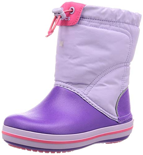 Crocs Unisex Crocband LodgePoint Boot Kids Snow
