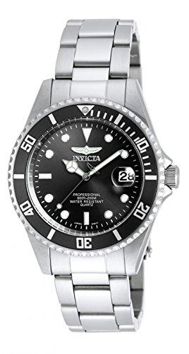 Invicta 8932OB Pro Diver Unisex Uhr Edelstahl Quarz schwarzen Zifferblat