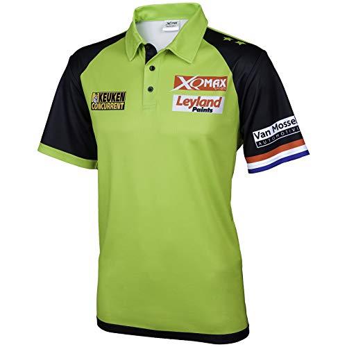 TW24 Poloshirt Michael Van Gerwen für Herren Version 2018 Matchshirt Dartshirt Größe S-XXXL Wettkampfshirt (L)