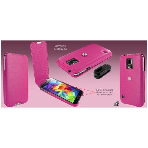 Piel Frama U665p Imagnum - Custodia Per Samsung Galaxy S5, Colore: Fucsia Fucsia- samsung - ebay.it