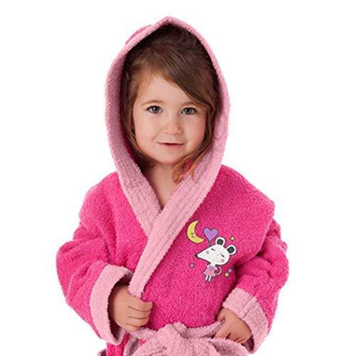 Secaneta Albornoz Infantil Talla 2/4 Rosa Ratita, 43500