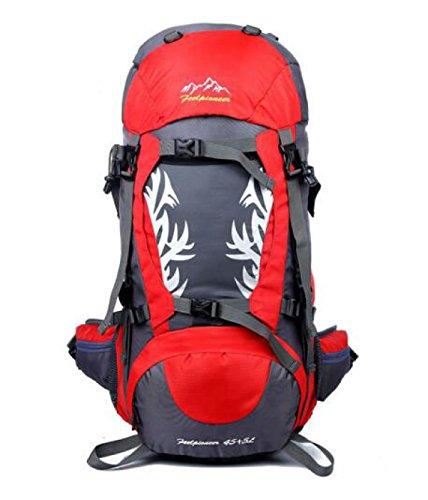 Outdoor Sport Bergsteigen Tasche Reisen Tasche Wasserdicht Schulter Tasche Red