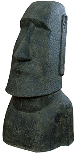 korb.outlet Moai Kopf Steinguss/...
