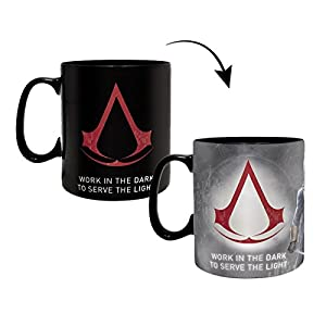 Abystyle, Tasse mit Thermoeffekt, 460 ml, ABYMUG417, mit Assassin's Creed-Motiv