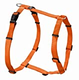 Hunter Hundegeschirr Vario Rapid, M, orange, Nylon