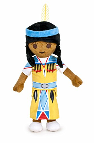 Famosa Softies - Playmobil Peluche 30 cm Chica India,
