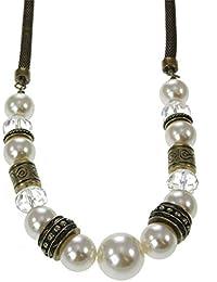 seleziona per ultimo migliore vendita San Francisco Amazon.it: perle per bigiotteria - Collane / Donna: Gioielli
