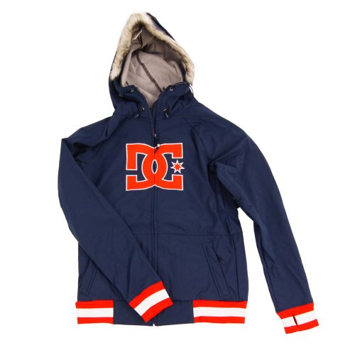 DC Shoes Gamut 14 Womens 10 K Insulated, MARINE/ORANGE, L