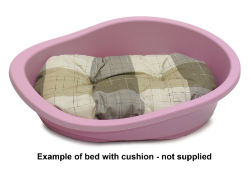 SONNY-Classic-Plastic-Dog-Bed-80-COTTON-CANDY
