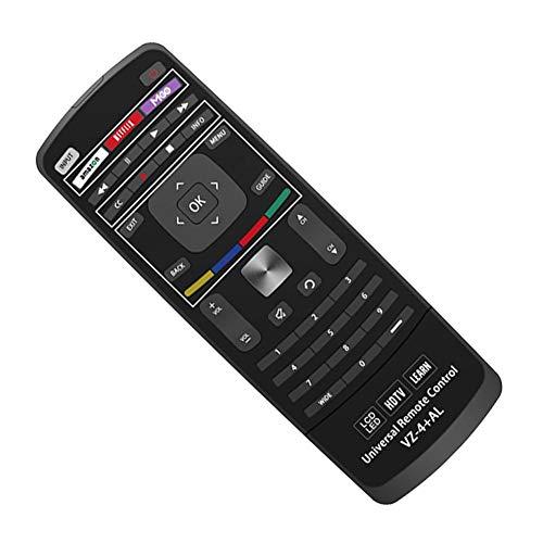 LLDHWX für VIZIO XRT302 Universal-Fernbedienung mit QWERTY-Taste M470VSE M650VSE