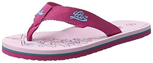 Lico - Tao, Scarpe da Spiaggia e Piscina Bambina Pink (PINK/TUERKIS          LOT)