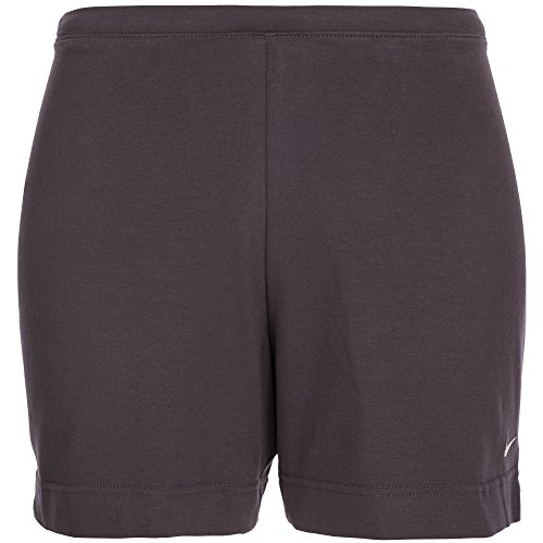 Nike Damen Gym, Dance, Aerobic, Baumwolle Jersey-Stretch Shorts. 222450–200 Gr. Small, Braun (Nike-dance-jersey)