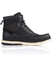 Deeluxe 74 - Boots Noires A Lacets Homme